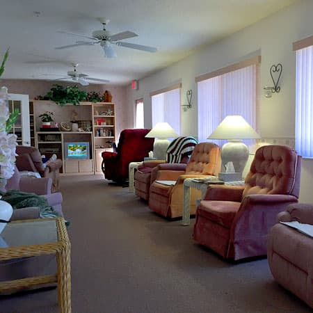 Comfortable Living for Elderly Women